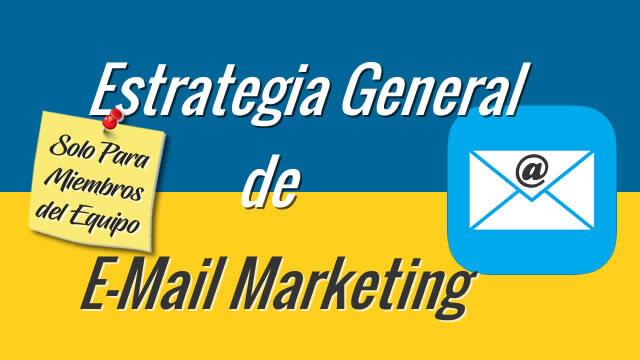 20 Estrategia General Email Marketing para MailChimp