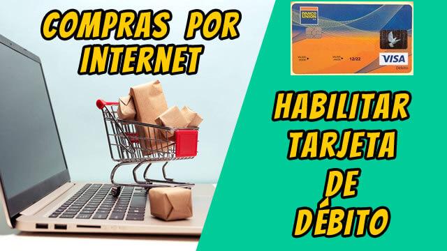 3 Banco Union Habilitar Tarjeta y Comprar en Internet